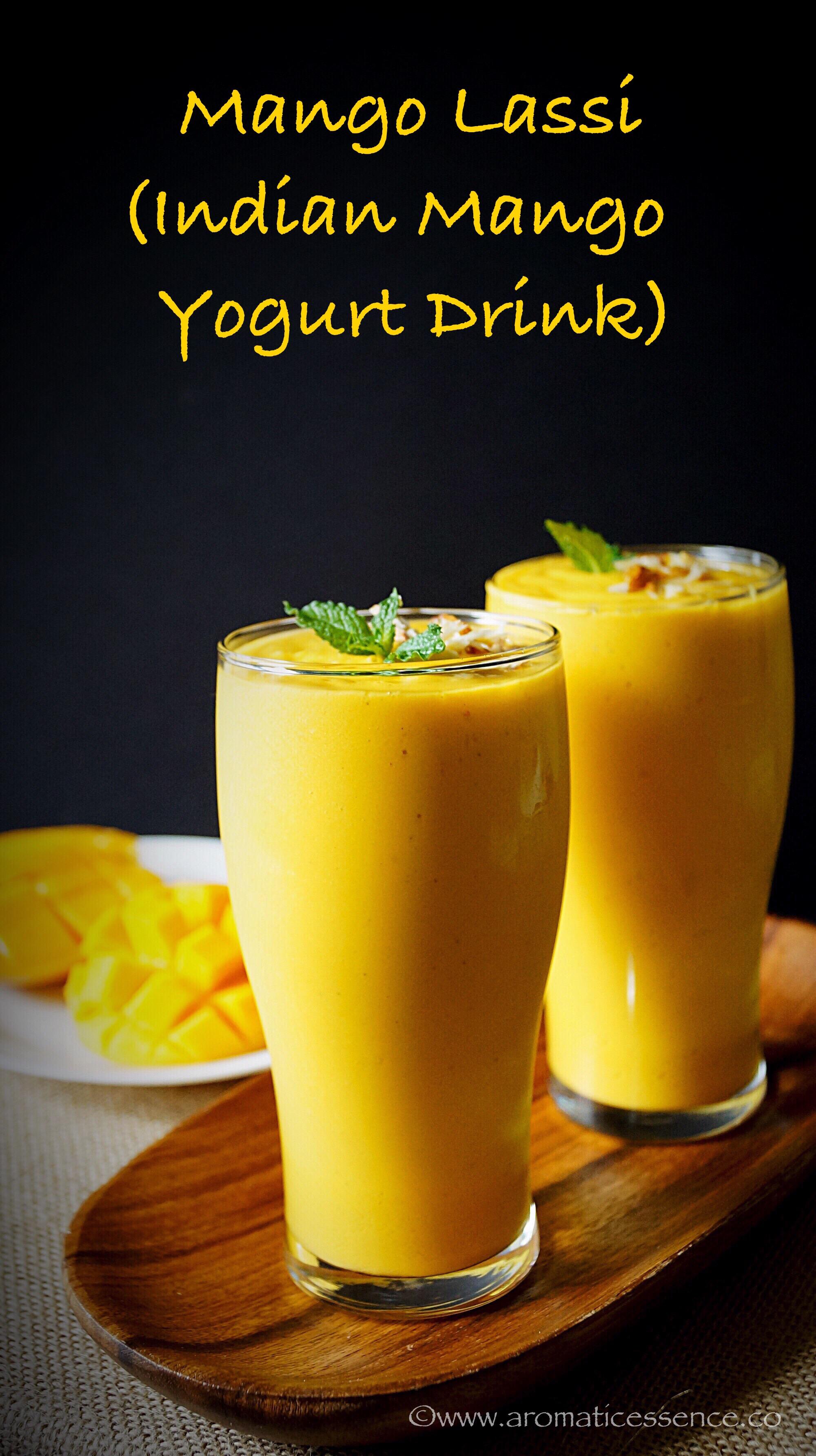 Mango Lassi Recipe Using Mango Pulp How To Make Mango