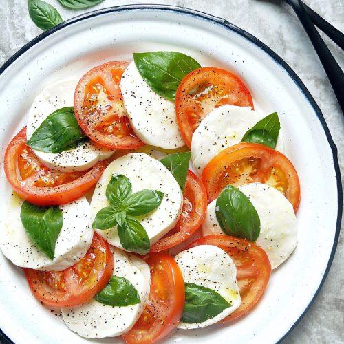 Caprese Salad Recipe Dried Basil