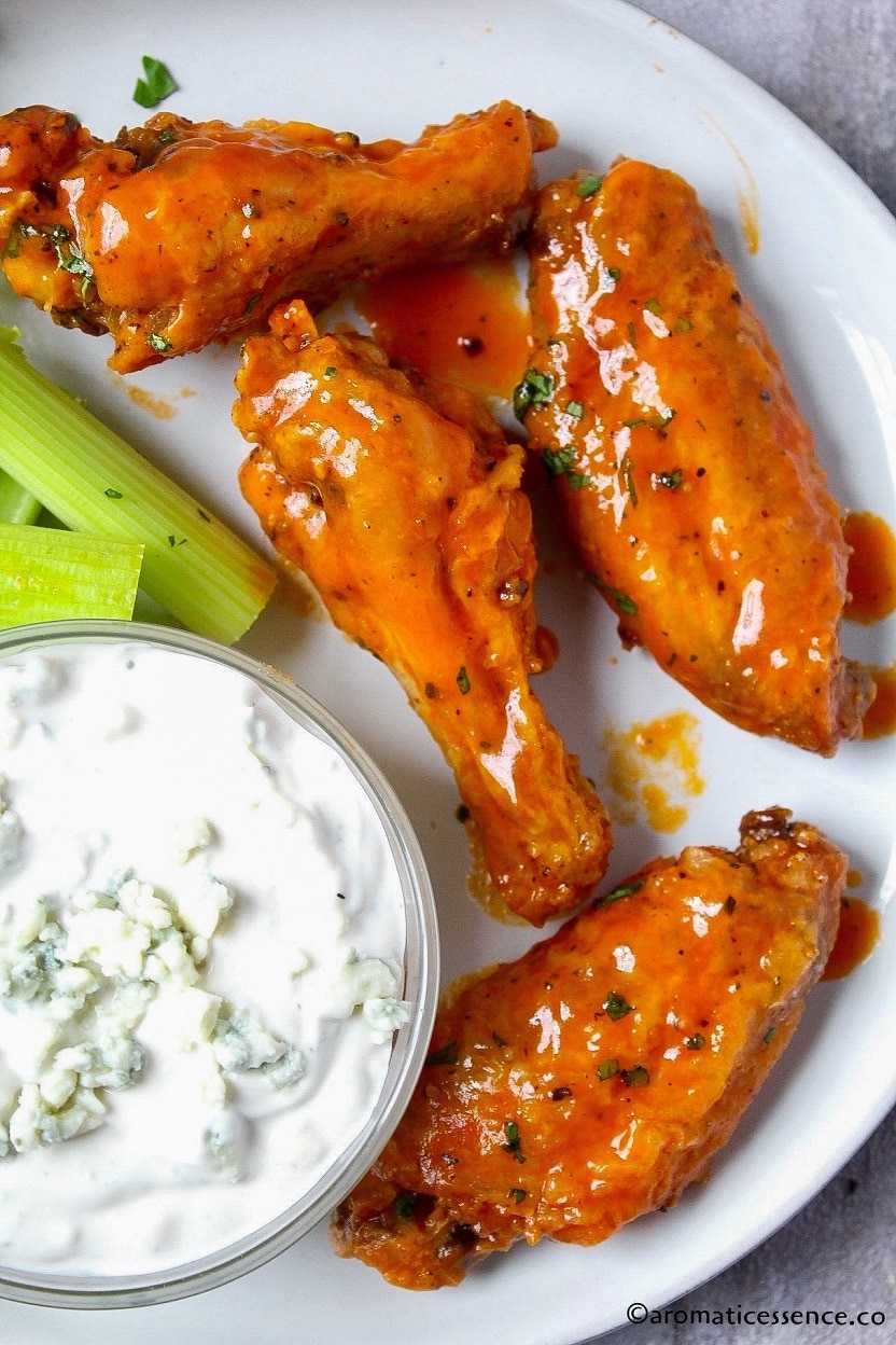 Oven Baked Hot Wings Recipe